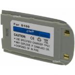 Batterie de téléphone portable pour SAMSUNG S100 silver Li-ion 800 / 900mAh
