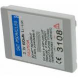 Batterie de téléphone portable pour SIEMENS C0 Li-ion 500mAh