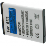 Batterie de téléphone portable pour NOKIA 6111 / BL-4B 3.6V Li-Ion 700mAh