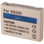 Batterie de téléphone portable pour LG KG320 3.6V Li-Ion 500mAh
