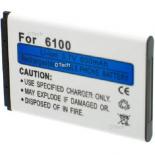 Batterie de t�l�phone portable pour NOKIA 6100 / BL4C 3.6V Li-Ion 700mAh