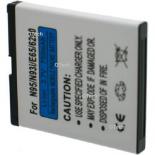 Batterie de téléphone portable pour NOKIA N95 / N93 / E65 3.6V Li-Ion 700 / 1000mAh