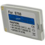 Batterie de téléphone portable pour BENQ S700 silver 3.6V Li-Ion 1000mAh