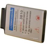Batterie de téléphone portable pour LG F2300 / F2400 / G232 3.7V Li-Ion 600 / 700mAh