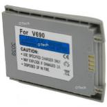 Batterie de téléphone portable pour MOTOROLA V690 silver 3.6V Li-Ion 900mAh