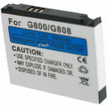 Batterie de téléphone portable pour SAMSUNG G800 3.6V Li-Ion 850mAh