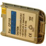 Batterie de téléphone portable pour SIEMENS CF110 silver 3.6V Li-Ion 600mAh