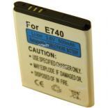 Batterie de t�l�phone portable pour SAMSUNG J600 / E740 3.6V Li-Ion 600 / 700mAh