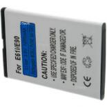 Batterie de téléphone portable pour NOKIA E613 / E61i / E90.6V Li-Ion 800mAh