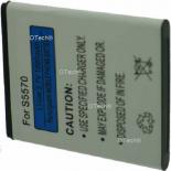 Batterie de t�l�phone portable pour SAMSUNG S5570 / S5750E / S5250 / EB494353VU 3.7V Li-Ion 1200mAh