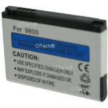 Batterie de téléphone portable pour BLACKBERRY 9800 3.7V Li-Ion 1200mAh