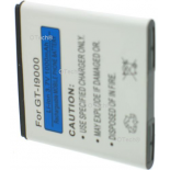 Batterie de t�l�phone portable pour SAMSUNG GT-I9000 GALAXY S 3.7V Li-Ion 1300mAh