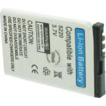Batterie de téléphone portable pour NOKIA BL-5CT / 5220 3.7V 1000mAh