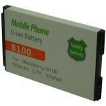 Batterie de téléphone portable pour BLACKBERRY 8100 3.7V Li-Ion 950mAh