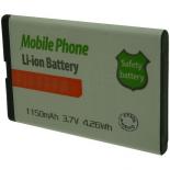 Batt OTech pour DOR 3.7V Li-Ion 1150mAh