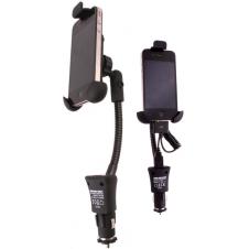 KIt support XXL pour smartphone / Iphone pour voiture avec chargeur intégré