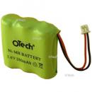 Batterie de téléphone 3.6V 280mAh NIMH AAA