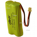 Batterie de téléphone 2.4V 750mAh NIMh