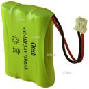 Batterie de téléphone 3.6V 750mAh NIMH
