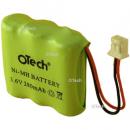 Batterie de téléphone 3.6V 280mAh Ni-Mh