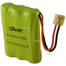 Batterie Ni-MH 3.6V 750mAh AAA