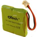 Batterie de téléphone Prismatic 2.4V 2.4V450mAh