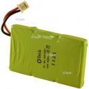 Batterie de téléphone 3.6V 400mAh