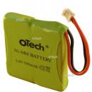 Batterie de téléphone Prismatic 2.4V 550mAh