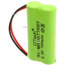 Batterie de téléphone 2.4V 550mAh