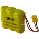 Batterie de téléphone Ni-MH 3.6V 280mAh AAA