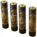 4 Batteries de téléphone pour LOGICOM YZEA 502 1.2V 750mAh AAA NiMh