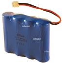 Batterie de téléphone 4.8V Ni-Cd 600mAh