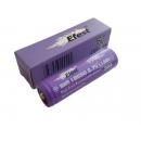 Accu li-ion Efest Purple LIMN  pour e-cigarette compatible  18650 / IMR18650 3.7V 3100mAh Button