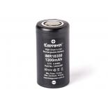 Accu li-ion Efest LIMN  pour e-cigarette compatible 18350 / IMR18350 / EGO Infinite mini / Magneto V2 / Smoktech 3.7V 800mAh Button