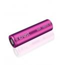 Accu li-ion Efest Purple LIMN  pour e-cigarette compatible 18650 / IMR18650 / EGO Infinite mini / Magneto V2 / Smoktech 3.7V 3000mAh Flat
