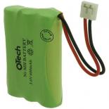Batterie de téléphone Ni-MH 3.6V 600mAh 3xAAA avec JST-EHR-2