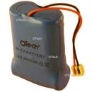 Batterie de téléphone Ni-Cd 3.6V 300/600mAh 3x1 / 2AA avec AMP-173977-2