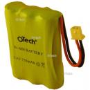 Batterie de téléphone Ni-MH 3.6V 550mAh 3xAAA avec JST-PHR2