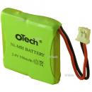 Batterie de téléphone Ni-MH 2.4V 500mAh 2xHF / 17 / 06 / 33 avec Molex 51004 (REV)