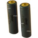 2 batteries de téléphone AA Ni-Cd 1.2V 700mAh