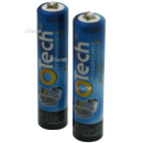 2 BATTERIES DE TELEPHONE AA Ni-MH 1.2V 1300mAh