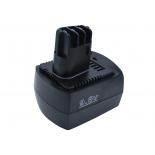 Batterie d'outillage 9,6V 2,0Ah Ni-Cd METABO 6,25471 / 6,25470