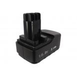 Batterie d'outillage 15,6V 2,0Ah Ni-Cd / Ni-Mh METABO 6,31749 / 6,31738
