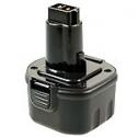 Batterie d'outillage APDE-9.6V 2.0Ah Ni-Cd ELU Dewalt 9061 / 9062 / Wurth Master 0700900220