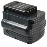Batterie d'outillage 24V 2,0Ah Ni-Cd / Ni-Mh DEWALT DE0241 / DE0243