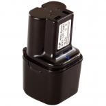 Batterie d'outillage 7,2V 3,0Ah Ni-Cd / Ni-Mh HENINGER 7,2V / 701-715
