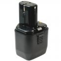 Batterie d'outillage APHT-12V 1.4Ah Ni-Cd Hitachi EB 1214S / EB12S(M) / FEB12 / Wurth Master 0706330012