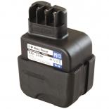 Batterie d'outillage 9,6V 3,0Ah Ni-Cd / Ni-Mh METABO 6.30070 / 6.30072
