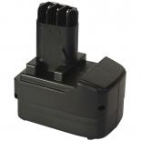 Batterie d'outillage 9,6V 3,0Ah Ni-Cd / Ni-Mh METABO 6.31746 / 6.31728
