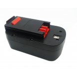 Batterie d'outillage  18V 2.0Ah Ni-Cd Black & Decker A18 / A1718 / PS182KB / HP188F2B